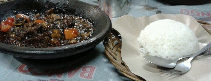 Iga Bakar Si Jangkung is one of Food Spots @Bandung.