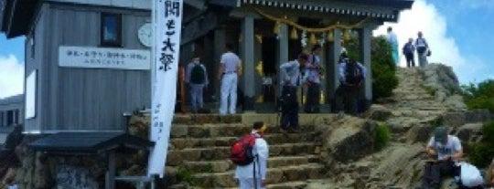 石鎚神社 頂上社 is one of 四国の山.