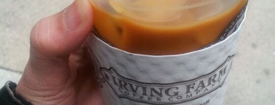 Irving Farm Coffee Roasters is one of Grab a Great Iced Coffee.