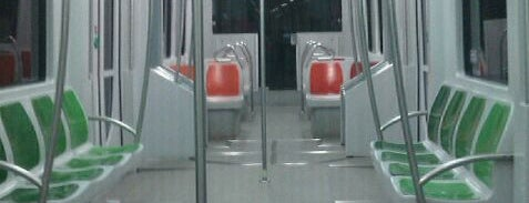 METRO Olivar de Quinto is one of Metro de Sevilla - Línea 1.