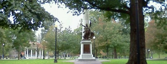 Boston Common is one of Boston Nature.