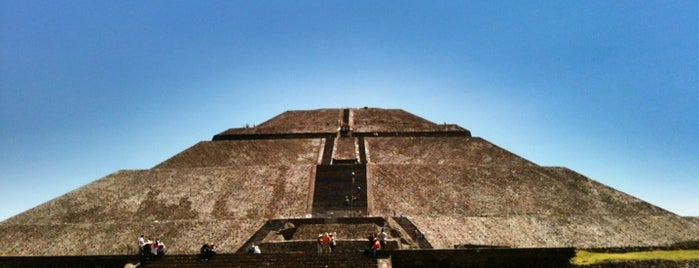 Zona Arqueológica de Teotihuacán is one of Ciudad de México, Mexico City on #4sqCities.