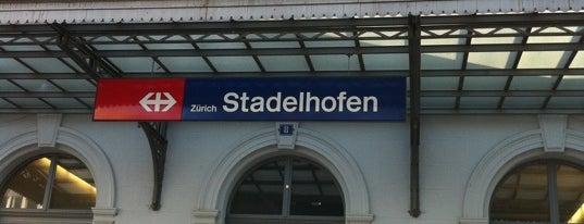 Bahnhof Zürich Stadelhofen is one of Bahnhöfe Top 200 Schweiz.