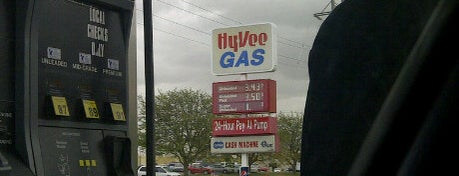 Hy-Vee Gas is one of Seattle - Baltimore.