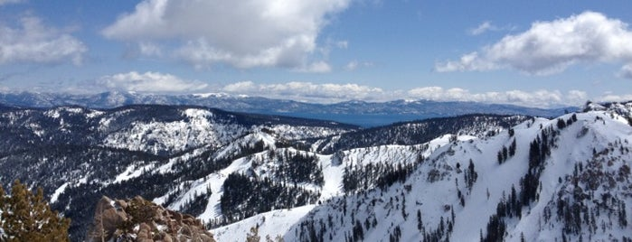 Headwall Chair is one of Squaw Lifts.