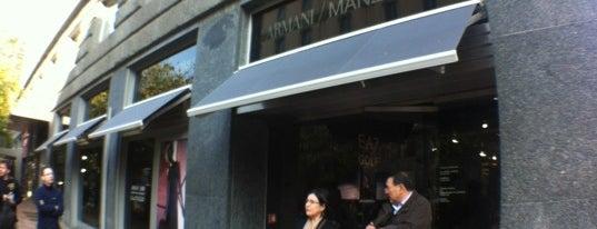 Armani is one of Milan City Badge - Milano da bere.