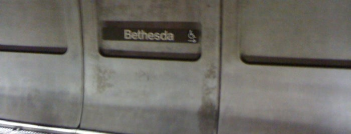 Bethesda Metro Station is one of WMATA Train Stations.