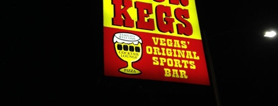 Four Kegs Sports Pub is one of Triple D Checklist.