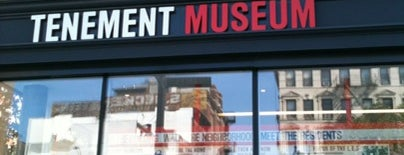 Lower East Side Tenement Museum is one of to do New York.