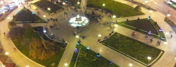 Plaza Moyúa is one of let's get Bilbao's badge (Spain) #4sqCities.