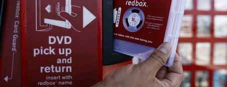 Redbox is one of My Places.