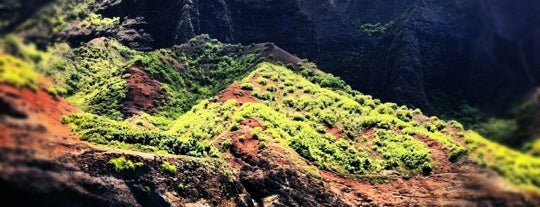 Na Pali Coast is one of Most Beautiful Places in America.