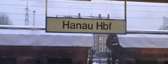 Hanau Hauptbahnhof is one of European places I've visited..