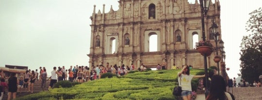 Ruins of St. Paul's is one of Discover: Macau.