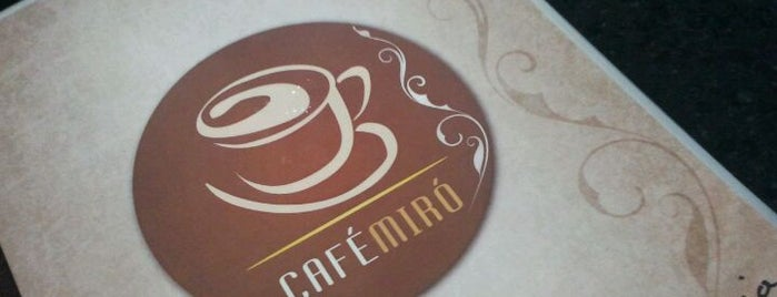 Café Miró is one of Universidades de Pernambuco.