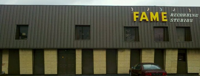 Fame Recording Studios of Muscle Shoals is one of Must-visit Places in the Shoals, AL #visitUS.
