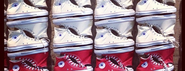 Converse is one of Sophie's Favorite Holiday Spots in NYC.