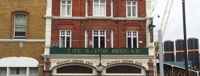 The Blind Beggar is one of #LoveE1.