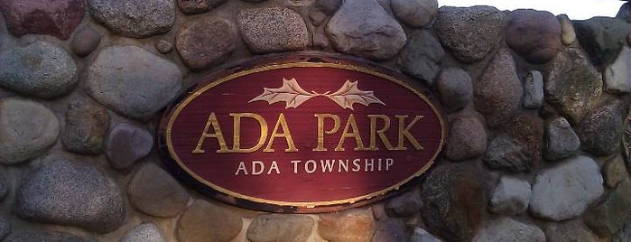 Ada Park is one of Parks/Outdoor Spaces in GR.