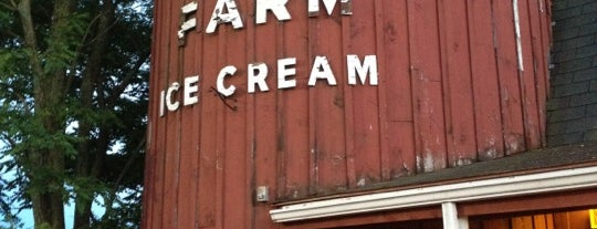 Mac's Dairy Farm is one of New England Best Ice Cream.
