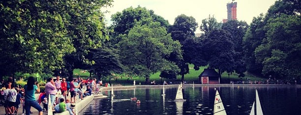 Central Park - Conservatory Water is one of Great Outdoor and Swimmies.