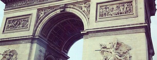 Triumphbogen is one of Paris, FR.