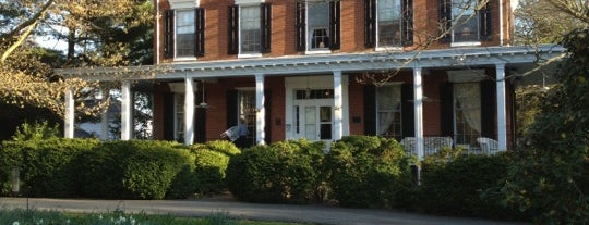 Brampton Bed and Breakfast is one of Maryland Green Travel Hotels and Inns.
