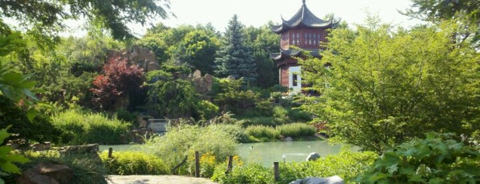 Montreal Botanical Garden is one of Canada Favorites.