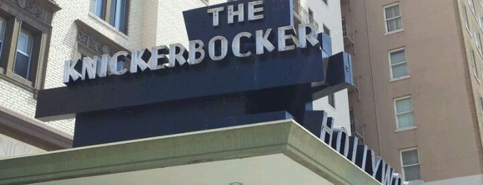 Knickerbocker Hotel is one of L.A. to do.