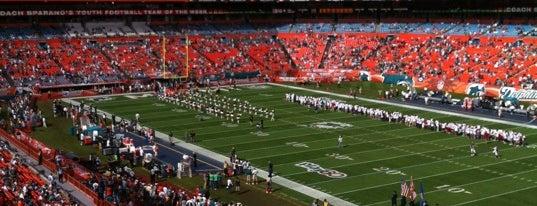 Hard Rock Stadium is one of Best Stadiums.