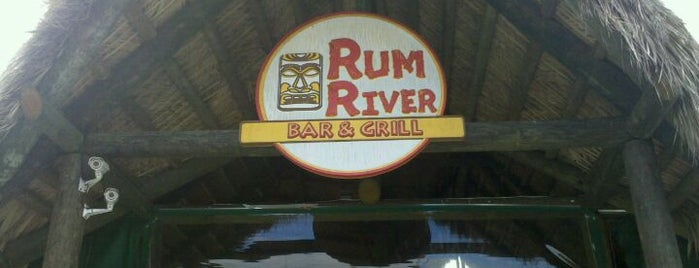 Rum River Tiki is one of Restaurants.