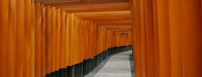 伏見稲荷大社 (Fushimi-Inari-Taisha Shrine) is one of Japan must-dos!.