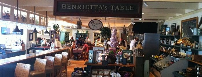 Henrietta's Table is one of BUcket List.
