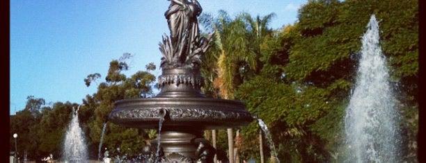 Parque José Enrique Rodó is one of Montevideo City Badge - Mateína.