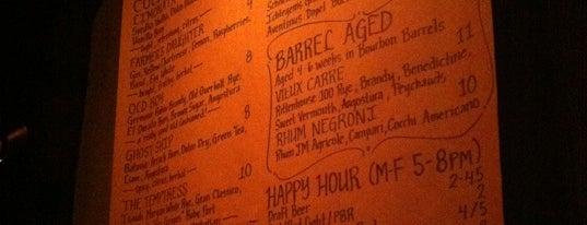 Blackbird Bar is one of Favorite San Francisco Eats.