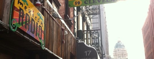 Mexican Radio is one of #MayorTunde's Past and Present Mayorships.