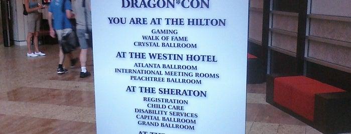 Hilton Atlanta is one of Dragon Con: Con of a Dragon.