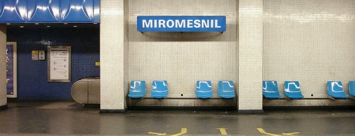 Métro Miromesnil [9,13] is one of Stations de metro a Paris.