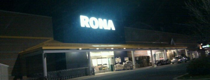 Rona Regional is one of Longueuil #4sqCities.