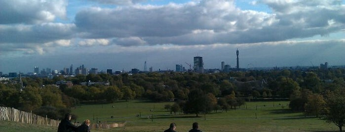 Primrose Hill is one of London City Badge - London Calling.