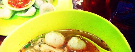 เจียง ลูกชิ้นปลา is one of Top 10 dinner spots in กรุงเทพมหานคร, ประเทศไทย.