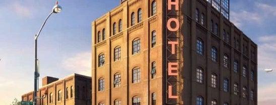 Wythe Hotel is one of USA East Coast.