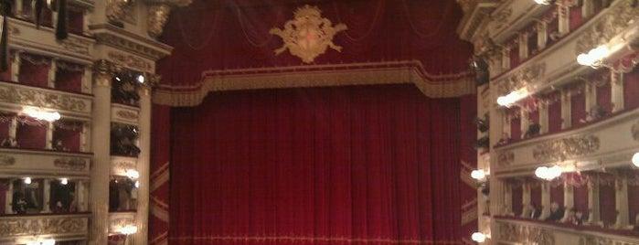 Teatro alla Scala is one of Milan City Badge - Milano da bere.
