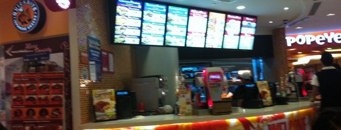 Fast food resturants for Popeyes louisiana kitchen austin tx