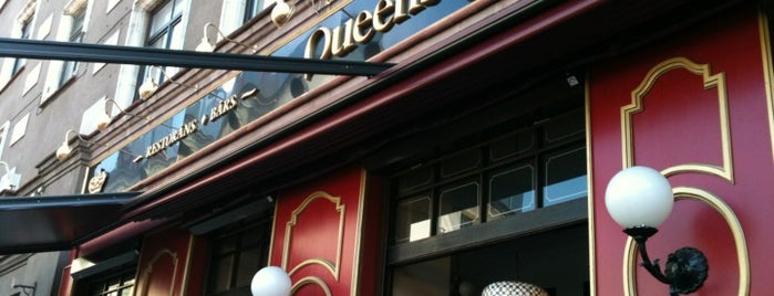 Queens Pub is one of Bars and Pubs in Riga.