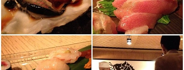 Sushi Azabu is one of Eating New York City.