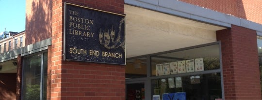 Boston Public Library - South End Branch is one of Boston Public Libraries.