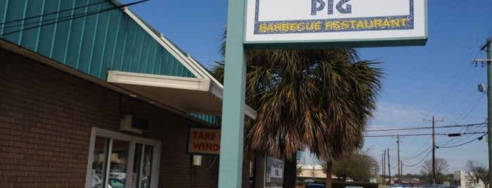 Palmetto Pig is one of South Carolina Barbecue Trail - Part 1.