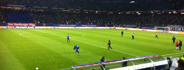 Volksparkstadion is one of Stadiums.