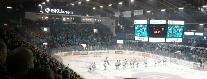 Isku Areena is one of JYM Hockey Arenas TOP100.